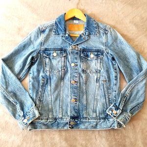 H&M &DENIM Light Wash Jean Jacket